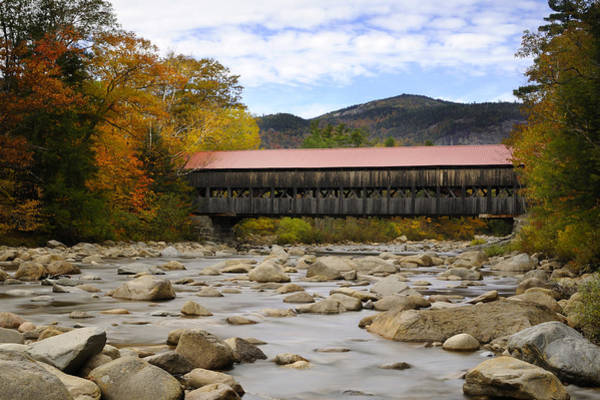 Photograph - Swift River Vista by Luke Moore