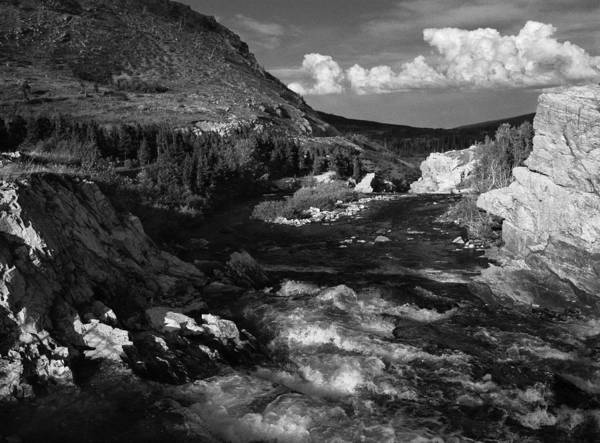 Photograph - Swiftcurrent Creek 2 by Lee Santa