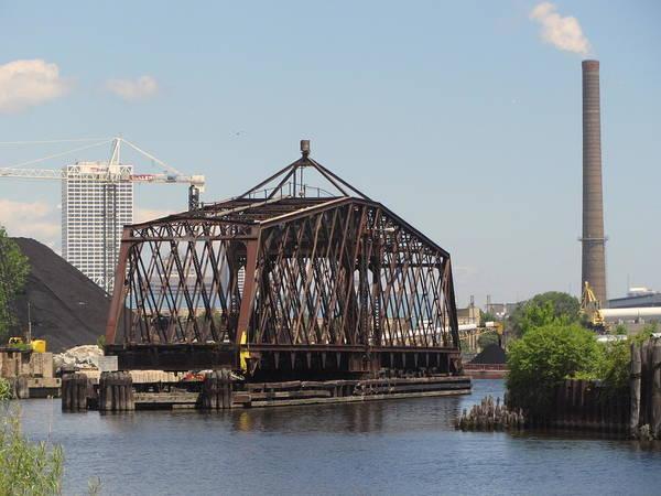 Photograph - Swing Bridge 1 by Anita Burgermeister