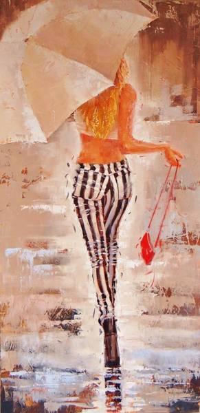 Wall Art - Painting - Swingin Two by Laura Lee Zanghetti