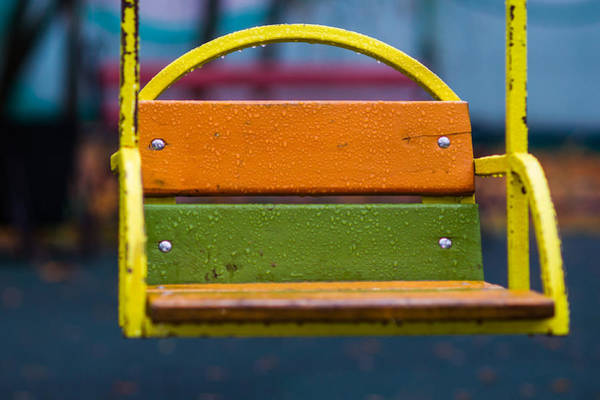 Little Things Photograph - Swinging Rain - Featured 3 by Alexander Senin