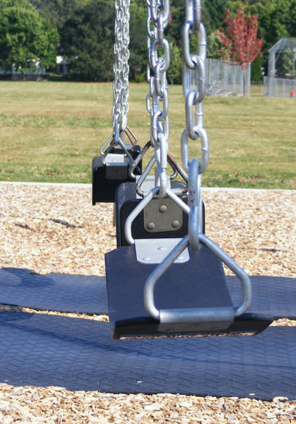 Photograph - Swings by Michelle Hoffmann