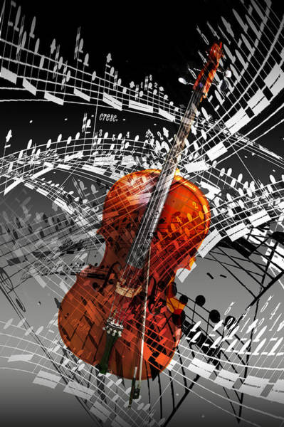 Photograph - Swirl Of Music by Randall Nyhof