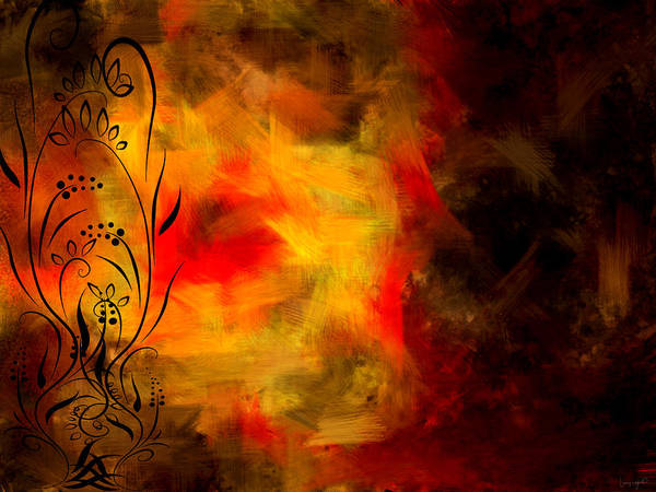 Autumn Colors Digital Art - Swirled by Lourry Legarde