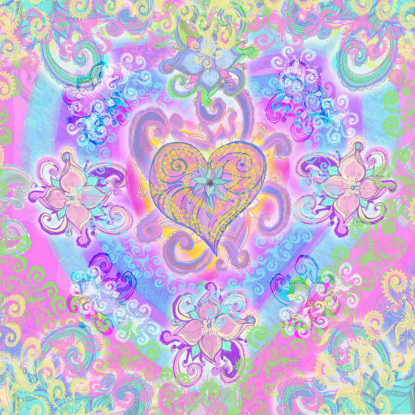 Wall Art - Photograph - Swirley Heart by MGL Meiklejohn Graphics Licensing