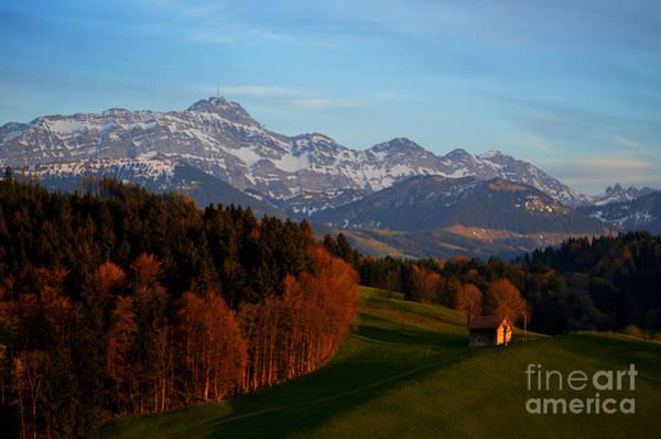 Photograph - Swiss Alpine Scene by Susanne Van Hulst
