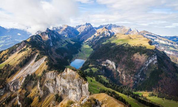 Photograph - Swiss Alps by Brian Grzelewski