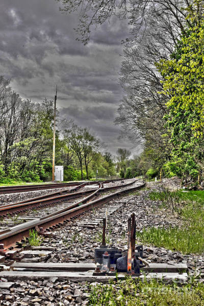 Straight Ahead Wall Art - Photograph - Switch by Alan Look