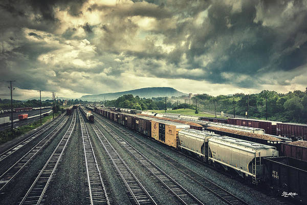Photograph - Switchyard Junction Near Lookout Mountain by Steven Llorca
