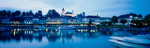 Leisurely Photograph - Switzerland, Rapperswil, Lake Zurich by Panoramic Images