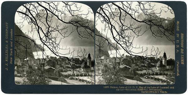 Photograph - Switzerland Sisikon by Granger