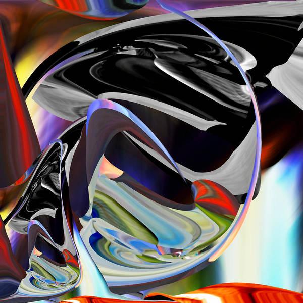 Digital Art - Swoop - Digital Abstract Art by Roy Erickson