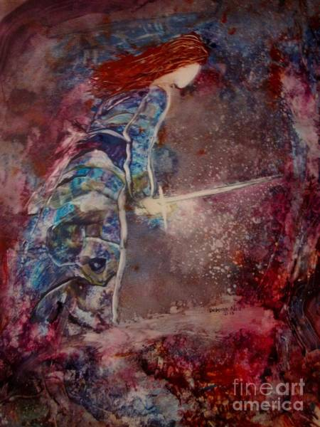 Spiritual Warfare Painting - Sword Of Truth by Deborah Nell