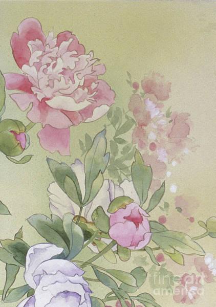 Kimono Digital Art - Syakuyaku Crop II by MGL Meiklejohn Graphics Licensing
