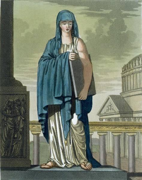 Prophet Painting - Sybil, Illustration From Lantique Rome by Jacques Grasset de Saint-Sauveur