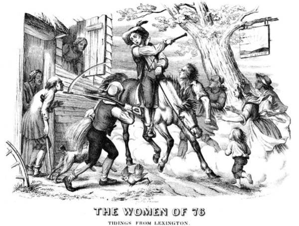 Militiaman Photograph - Sybil Ludington, 1776 by Granger