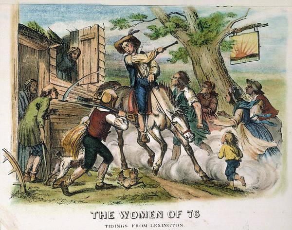Militiaman Photograph - Sybil Ludington, 1777 by Granger