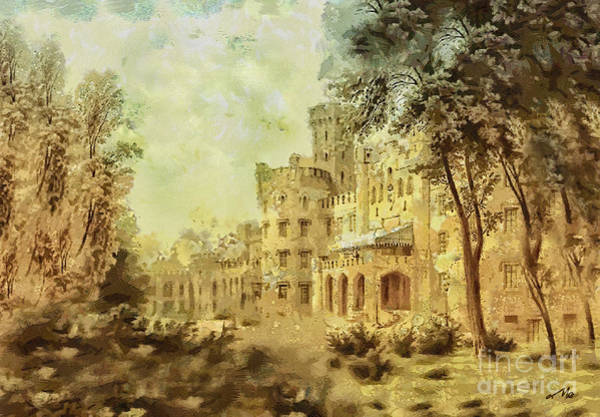 Poland Painting - Sybillas Palace by Mo T