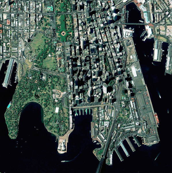 Wall Art - Photograph - Sydney by Geoeye/science Photo Library