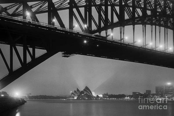 Wall Art - Photograph - Sydney Harbour Before Dawn by Colin and Linda McKie