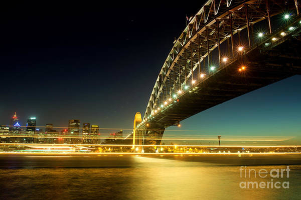 Photograph - Sydney Harbour Bridge by Yew Kwang