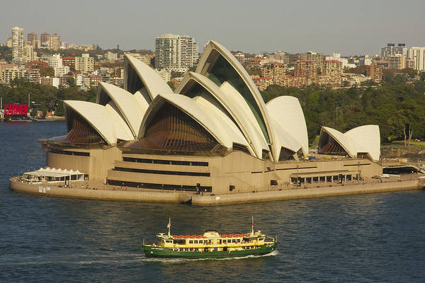 Photograph - Sydney Harbour Opera House by Stuart Litoff