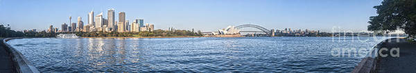 Wall Art - Photograph - Sydney Harbour Panorama by Colin and Linda McKie
