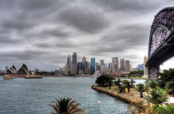 Wall Art - Photograph - Sydney Harbour View by Peter Mooyman