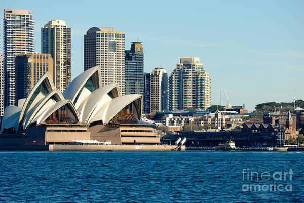 Photograph - Sydney Opera House.  by David Hill