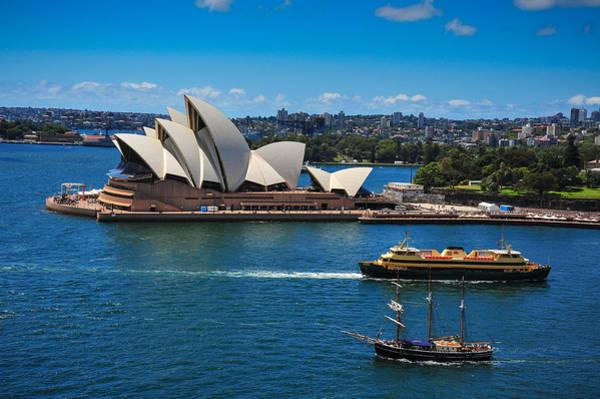 Photograph - Sydney Opera House by Harry Spitz