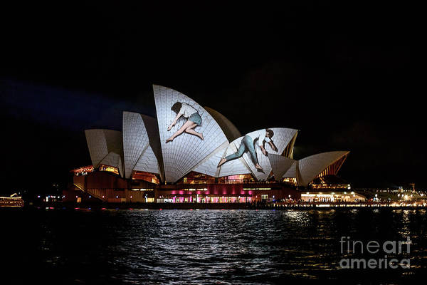Photograph - Sydney Opera House  Iv by Ray Warren