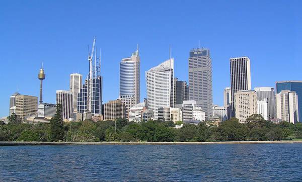 Photograph - Sydney Skyline by Dreamland Media