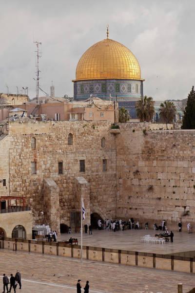 Jerusalem Photograph - Symbols Of Religion by Sola Deo Gloria