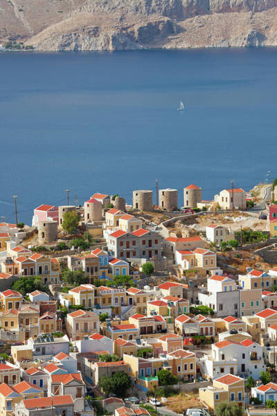 Dodecanese Photograph - Symi Town, Symi Island, Dodecanese by Peter Adams