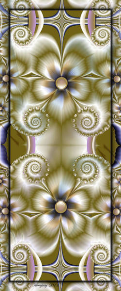 Digital Art - Symmetry In Nature by Karla White