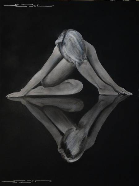 Painting - Symmetry In Paint  by Eric Dee