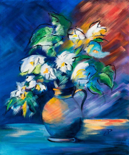 Painting - Symphony In Blue by Elise Palmigiani