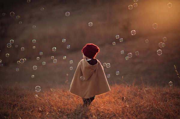 Bubbles Wall Art - Photograph - Symphony by Jake Olson
