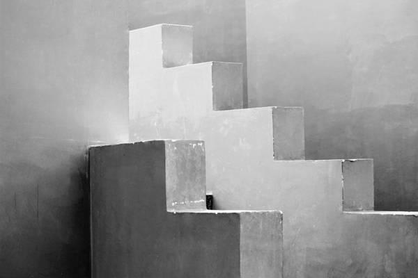 Synchronized Geometry Art Print
