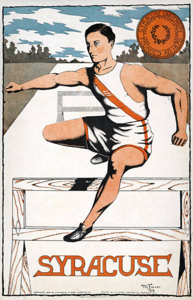Wall Art - Painting - Syracuse Athlete, 1906 by Granger