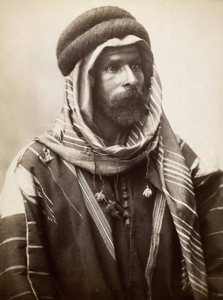 Photograph - Syria Bedouin Sheik by Granger