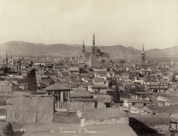 Damascus Photograph - Syria Damascus, C1880 by Granger