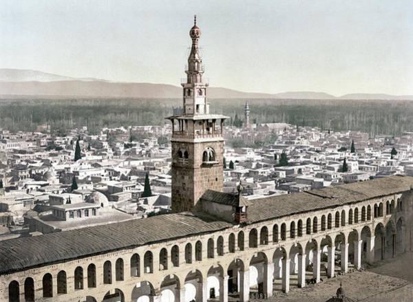 Damascus Photograph - Syria Umayyad Mosque by Granger