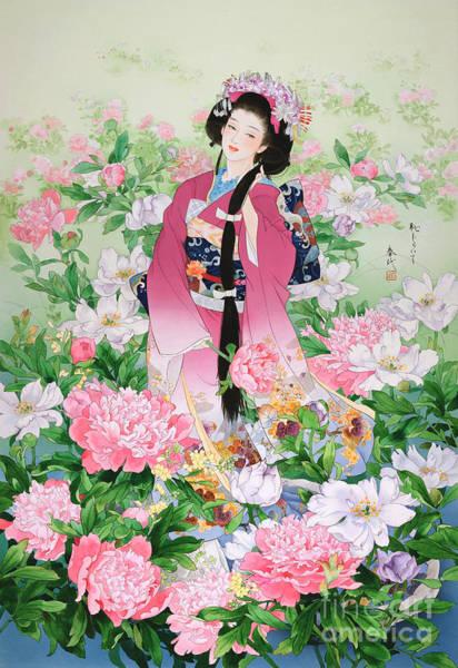 Japanese Art Digital Art - Syunsyo by MGL Meiklejohn Graphics Licensing