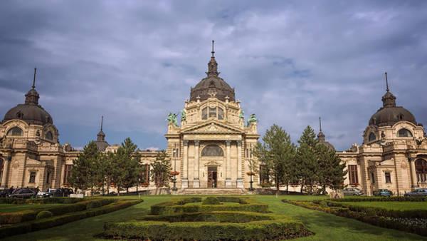 Photograph - Szechenyi Baths Budapest Hungary by Joan Carroll