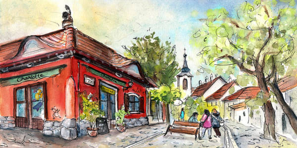Painting - Szentendre 01 by Miki De Goodaboom