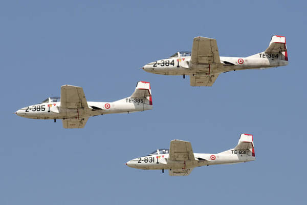 Tweets Photograph - T-37b Aircraft Of The Turkish Air Force by Daniele Faccioli