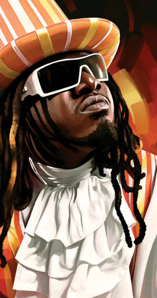 Wall Art - Painting - T-pain Artwork by Sheraz A