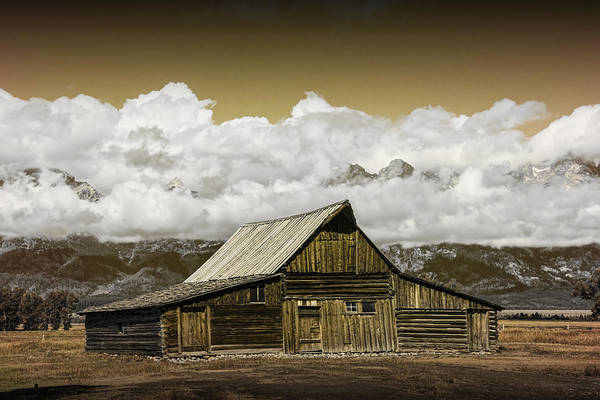 Photograph - T.a. Moulton Barn In The Grand Tetons by Randall Nyhof