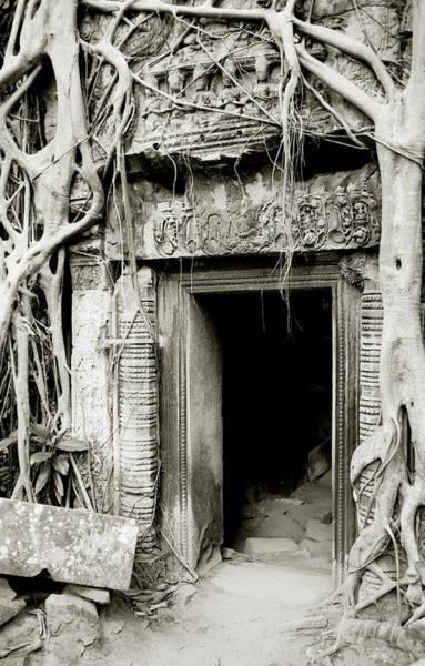 Photograph - Ta Prohm Doorway by Shaun Higson